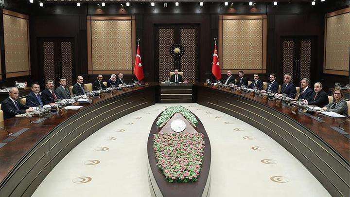 Cumhurbaşkanlığı Kabinesi, Cumhurbaşkanı Recep Tayyip Erdoğan başkanlığında toplandı
