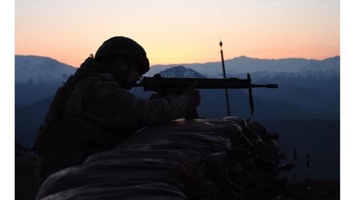 Türkiye-Irak sınırında çıkan çatışmada 4 asker şehit oldu