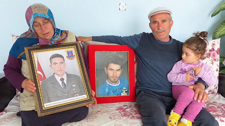 Lice'de 5 PKK'lı teröristin etkisiz hale getirilmesi Konyalı şehidin ailesine buruk bir sevinç yaşattı
