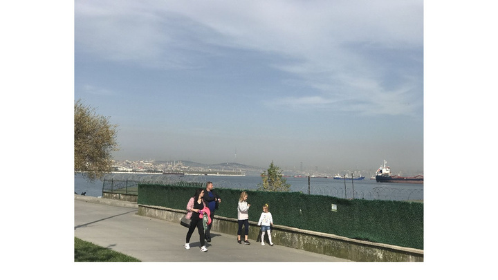 İstanbul'da bulutların sarı renge bürünmesi vatandaşı endişelendirdi