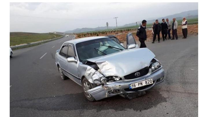 Samsun'da bir otomobil, sürücüsü benzin aldıktan 5 dakika sonra alevler içinde yandı