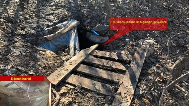 Lice'de düzenlenen operasyonda 21 sığınak tespit edildi