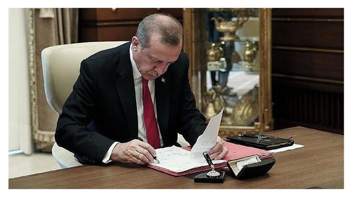 Cumhurbaşkanı Recep Tayyip Erdoğan 5 üniversiteye rektör atadı