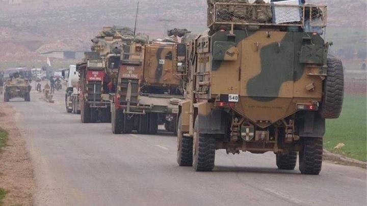 Suriye'nin Azez kentinde TSK konvoyuna düzenlenen saldırıda  1 asker şehit oldu, 3 asker yaralandı