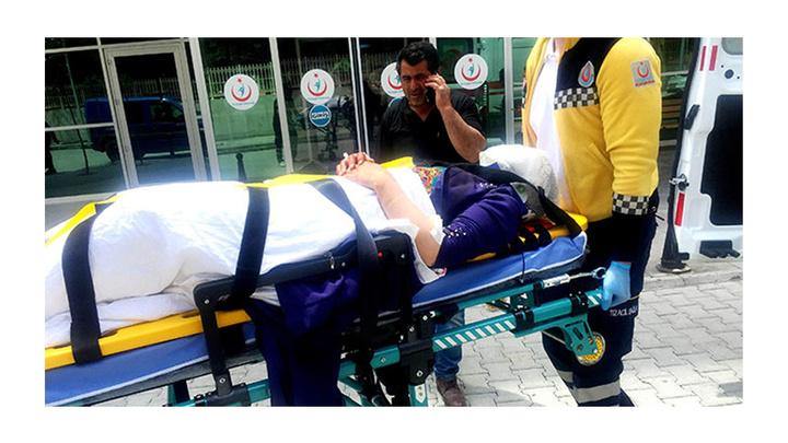 Konya'da Afganların içinde bulunduğu otomobil takla attı: 5 yaralı