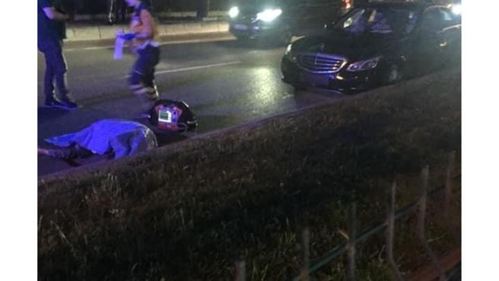 Mudanya'da yolun karşısına geçmek isteyen kadına otomobil çarptı, kadın hayatını kaybetti