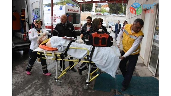 Kütahya'da tartıştığı akrabalarını tabancayla yaraladı