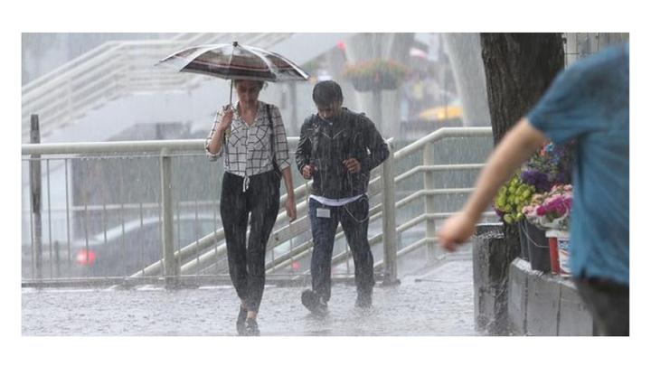 Meteorolojiden Marmara için aralıklı sağanak tahmini