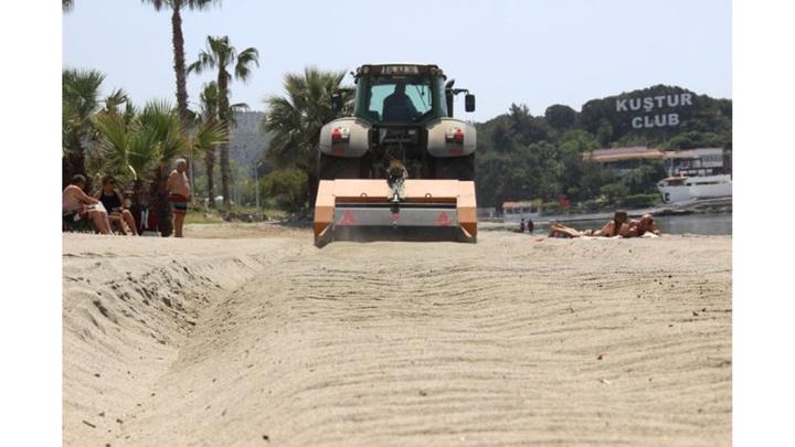 Aydın'da sahiller yaza hazırlanıyor