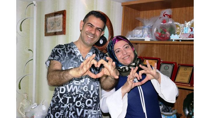 Diyarbakır'da 16 yıldır çocuk isteyen kadın yumurta gençleştirme tedavisi ile ikiz bebeklerine hamile kaldı