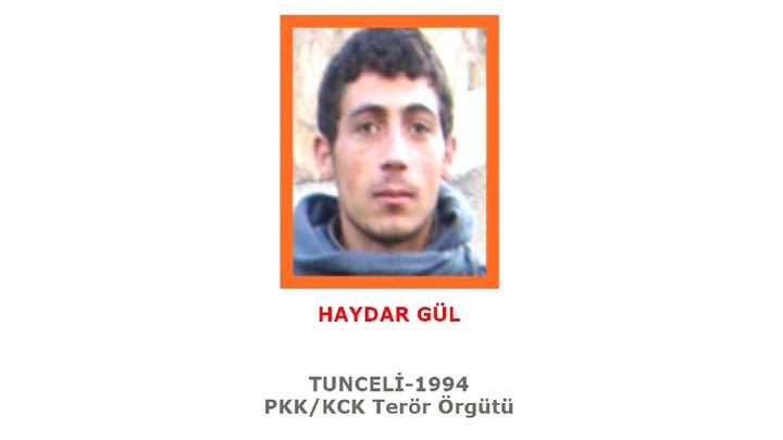 Tunceli'de mavi ve turuncu kategoride yer alan 2 terörist etkisiz hale getirildi