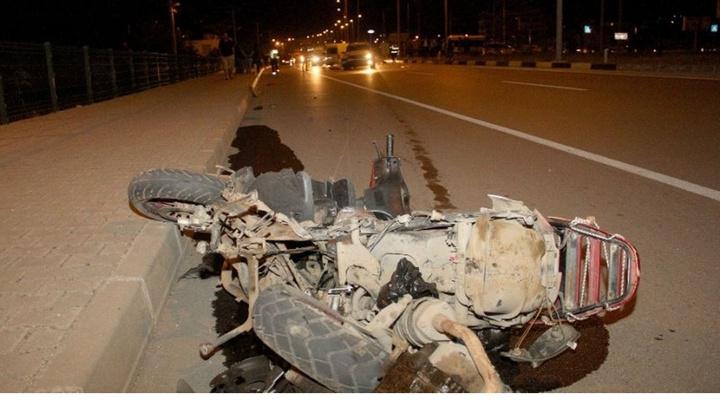Fethiye'de otomobille motosikletin çarpıştığı kazada 1 kişi öldü, 1 kişi yaralandı