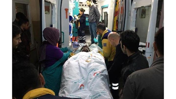 Ardahan'da taş ocağında iftar vakti meydana gelen patlamada 4 işçi yaralandı