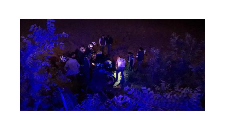 Bursa'da otomobil takla atıp şarampole yuvarlandı: 4 yaralı