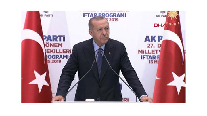 Cumhurbaşkanı Recep Tayyip Erdoğan: Cevap çok basit, oyları çaldılar