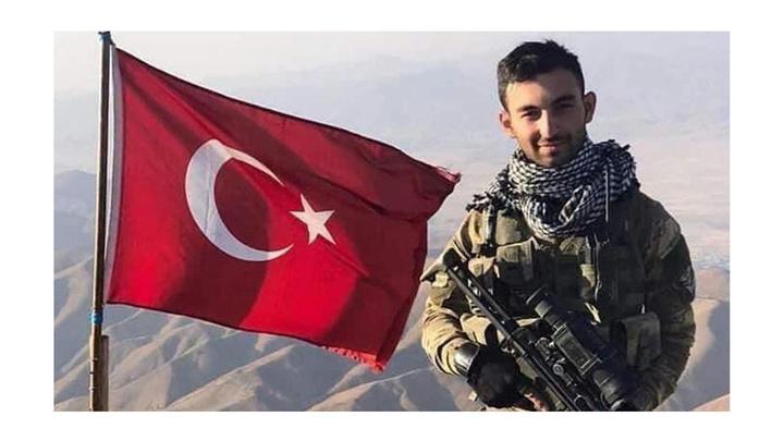 Şehit Uzman Çavuş Volkan Demirci için Hakkari'de tören düzenlendi