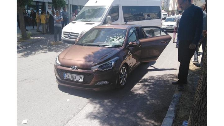 Adıyaman'da otomobil ile bisiklet çarpıştı: bisiklet sürücüsü yaralı