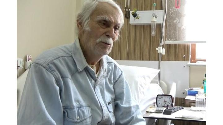 2 gün önce rahatsızlanan Eşref Kolçak yeniden hastaneye kaldırıldı