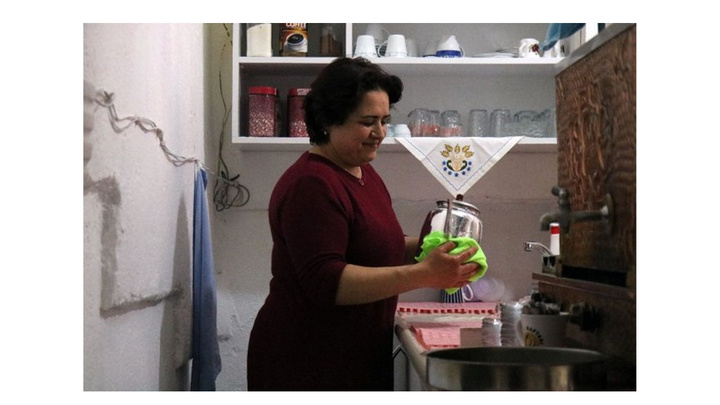 Kırşehir'de işsiz kalan kadın annesinin desteği ile çağ ocağı işletmecisi oldu