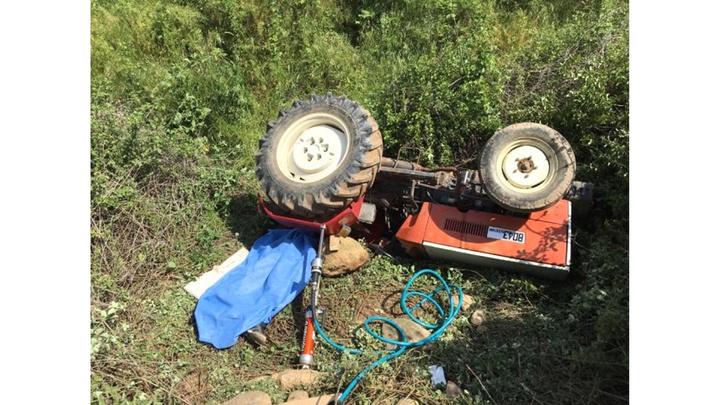 Bayburt'ta kullandığı traktörün altında kalan 17 yaşındaki Talip, öldü