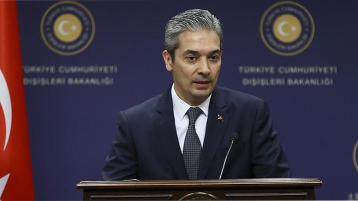 Dışişleri Bakanlığı Sözcüsü Hami Aksoy'dan ABD-Türkiye ittifakına yönelik açıklama