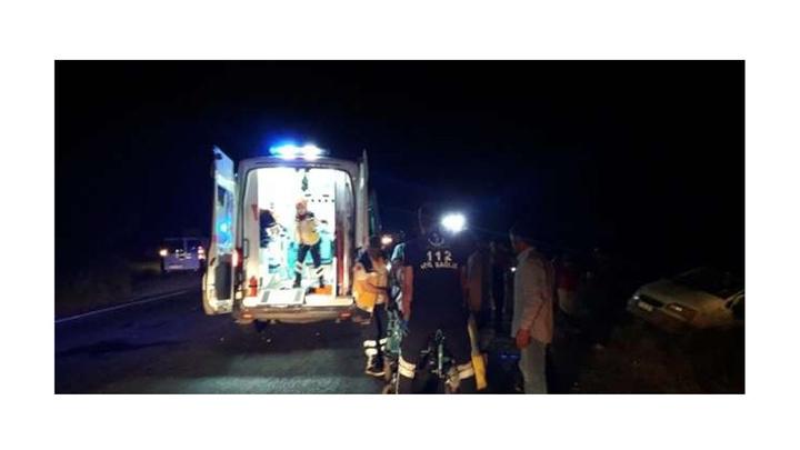 Midyat'ta trafik kazasında 1 kişi hayatını kaybetti, 6 kişi yaralandı