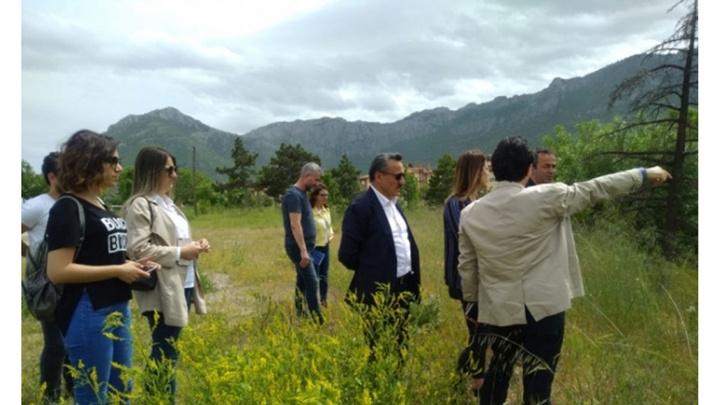 Seydişehir'de Millet Bahçesi çalışmaları başladı