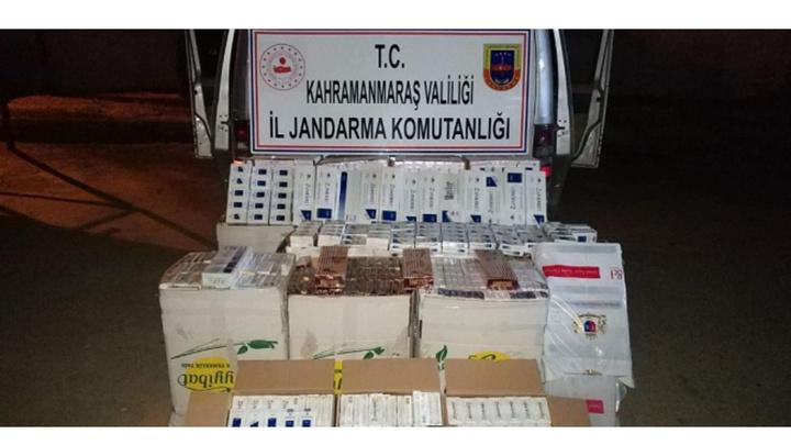 Kahramanmaraş'ta sigara kaçakçısına 115 bin 780 TL para cezası