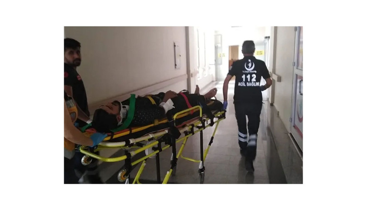 Adıyaman'da motosiklet ile otomobilin çarpıştığı kazada 1 kişi yaralandı