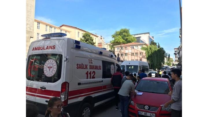 Sinop'ta trafik kazasında 1 kişi yaralandı