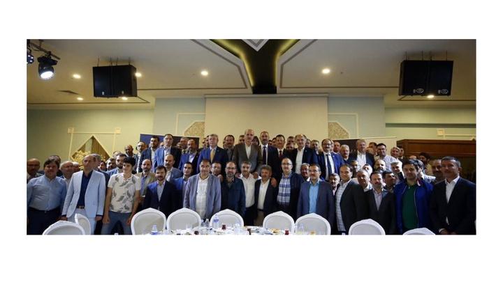 Adalet Bakanı Abdülhamit Gül ve AK Parti kurmayları sahurda buluştu