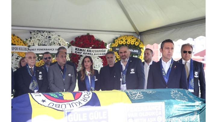 Fenerbahçe Spor Kulübü eski Başkanı Metin Aşık son yolculuğuna uğurlandı