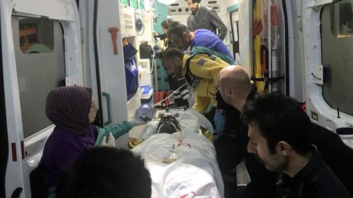 Doğubayazıt'ta patlama: 1 ölü, 8 yaralı