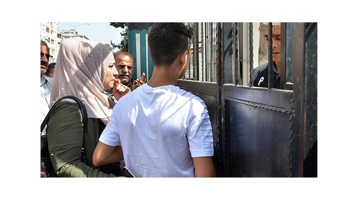 Adana'da sınava 1 dakika geç kalan Abdülkadir ilk oturuma katılamadı