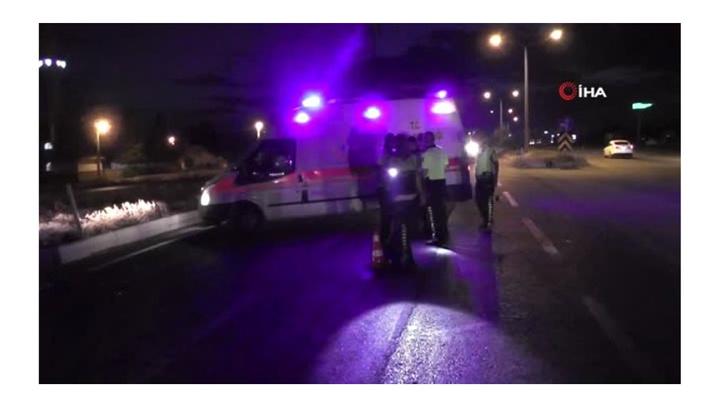 Konya'da otomobille motosikletin çarpışması sonucu motosiklet sürücüsü öldü