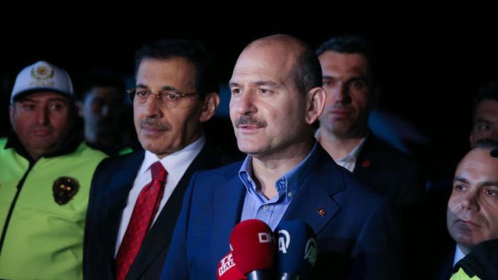 İçişleri Bakanı Süleyman Soylu'dan Bolu'da trafik tedbirleri denetimi