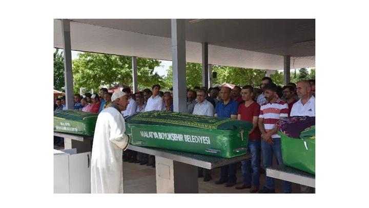 Malatya'da akrabalarının döverek öldürdüğü çiftçi toprağa verildi