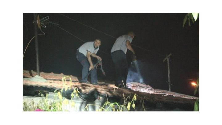Kayseri'de Hoca Ahmet Yesevi Mahallesi'nde  yangın