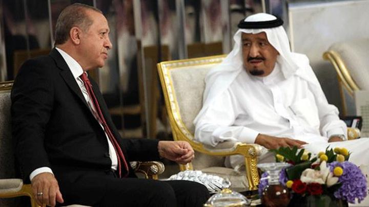 Cumhurbaşkanı Recep Tayyip Erdoğan ile Suudi Arabistan Kralı Selman görüştü