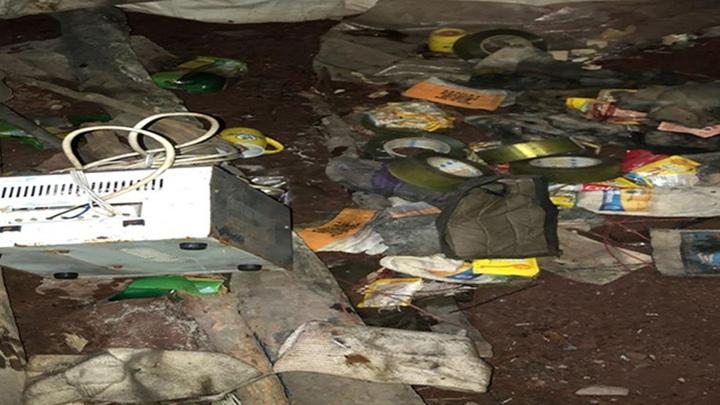 Pençe Harekâtı'nda PKK'ya ait EYP düzenekleri ve malzemeler ele geçirildi