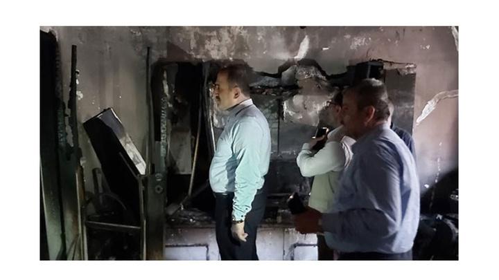 Trabzon'da bir evde çıkan yangında eşyalar kül oldu, Kur'an-ı Kerim yanmadı