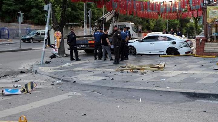 Ankara'da kaza: 1'i ağır, 3 yaralı