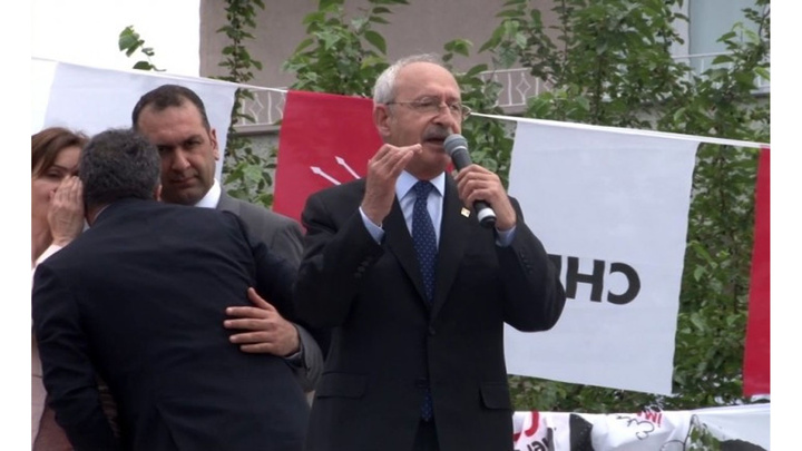CHP Lideri Kemal Kılıçdaroğlu Kağıthane'de halka seslendi