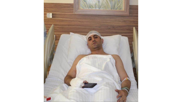 Akit TV Haber Müdürü Murat Alan cuma namazına giderken saldırıya uğradı