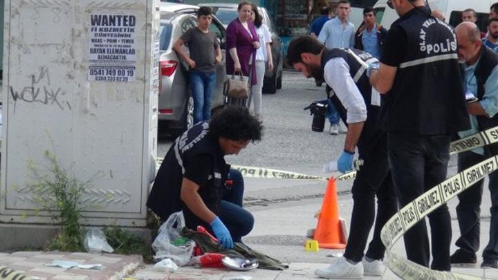 Çorum'da eşinin tüfekle yaraladığı kadını, çelik tencere kurtardı