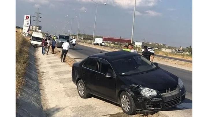 Hatay'da trafik kazasında 2 kişi yaralandı