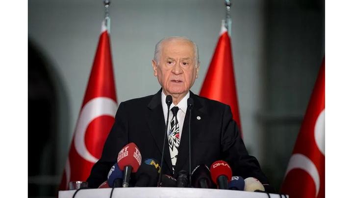 MHP Lideri Devlet Bahçeli: CHP adayı ile sözde gazetecinin otel buluşması kesinlikle iyi niyetle izah edilemeyecektir.