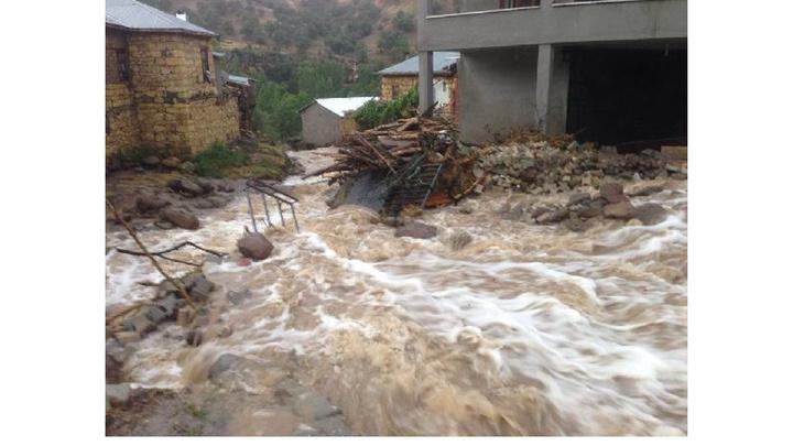 Konya'da sağanak yağmur sonrası oluşan selde 97 koyun telef oldu