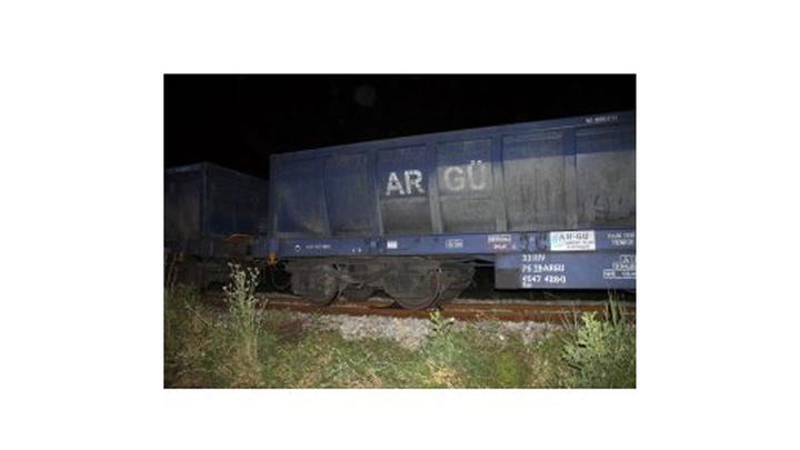 Çankırı'da yabancı uyruklu şahıs trenin altında kaldı
