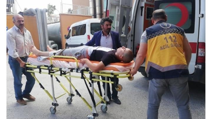 Erzincan'da bir çocuk koyunları otlattığı sırada 25 metrelik uçuruma düştü